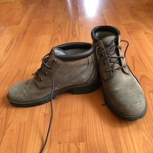 Timderland boot women size 7 gray